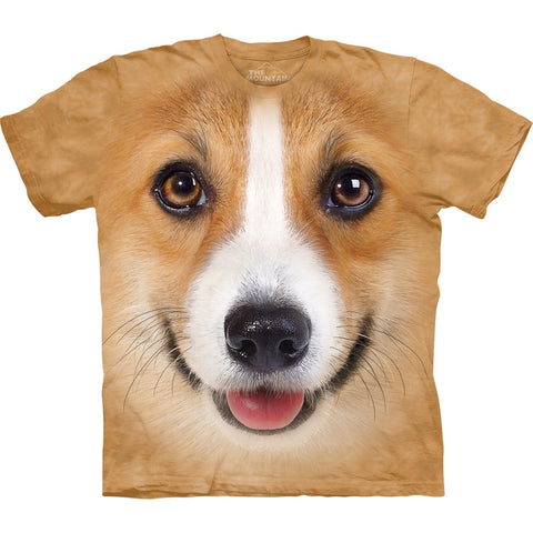 Corgi Face Kids T-Shirt