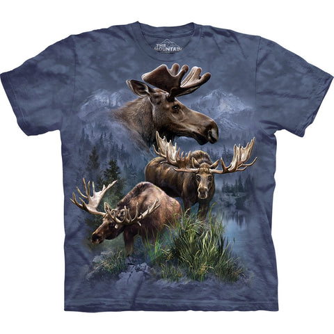 Moose Collage Kids T-Shirt