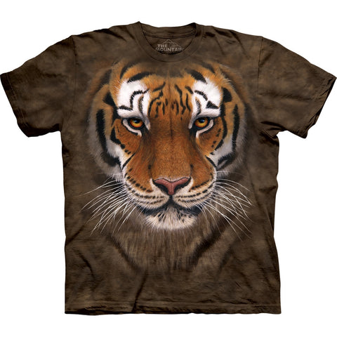 Tiger Face Close-Up Kids T-Shirt