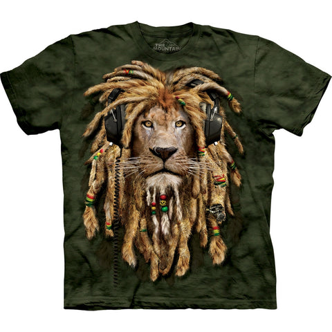 Lion DJ Jahman Kids T-Shirt