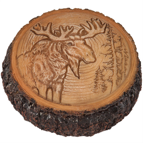 Moose in the Trees Trinket Box