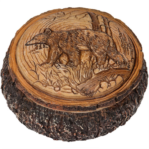 Bear in the Trees Trinket Box