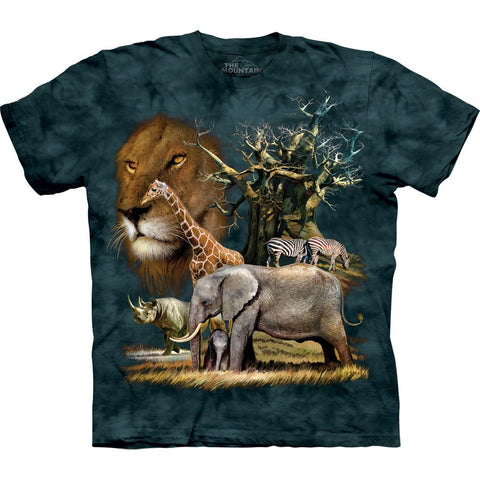 African Savanna College Kids T-Shirt