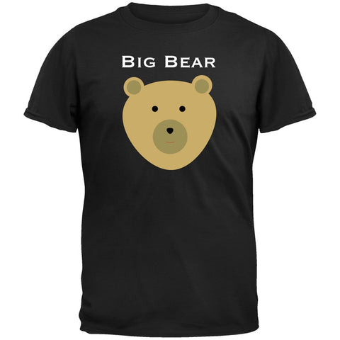 Big Bear Face Black T-Shirt