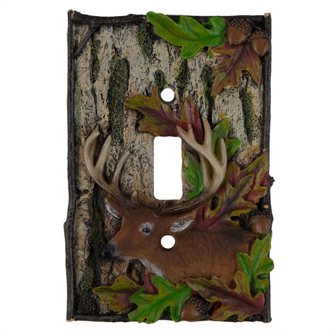 Deer Single Switch Cover