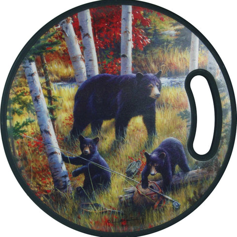 Bears in the Birches Cutting Board