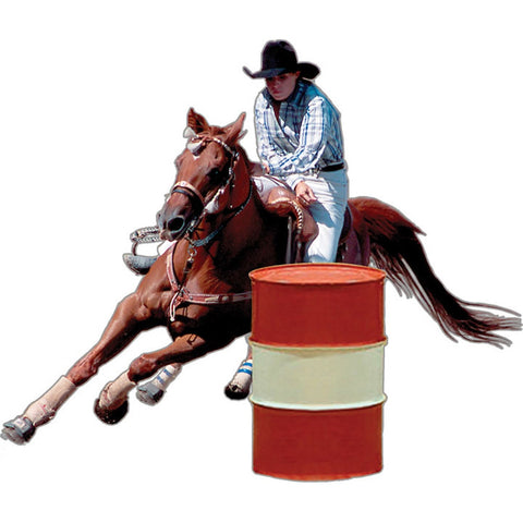 Barrel Racer Rodeo Magnet