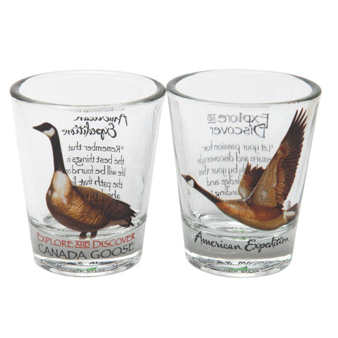 Canada Goose Shot Glass Set