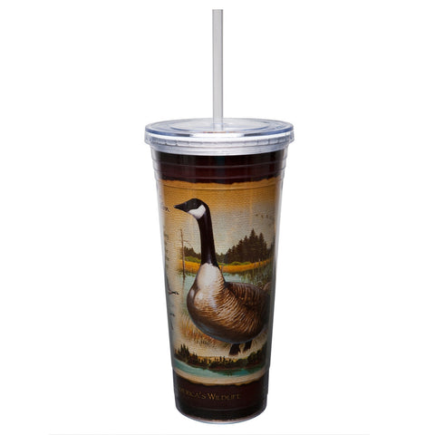 Canada Goose Double-Wall Insulated Acrylic Tumbler