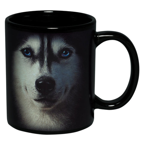 Siberian Husky Face Coffee Mug