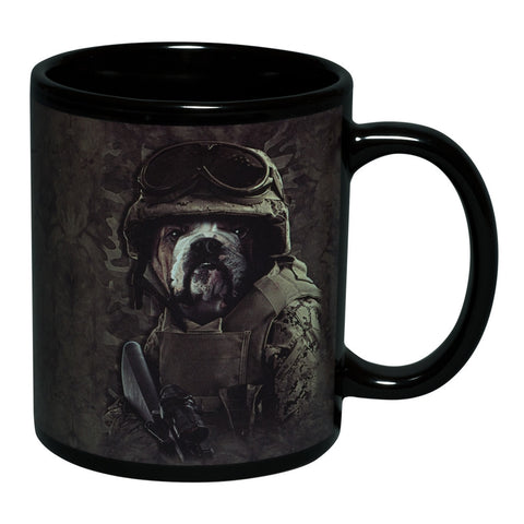 Combat Bulldog Sam Coffee Mug