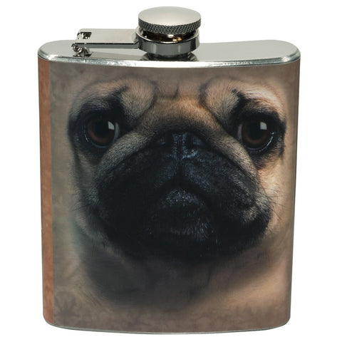 Pug Face Flasks