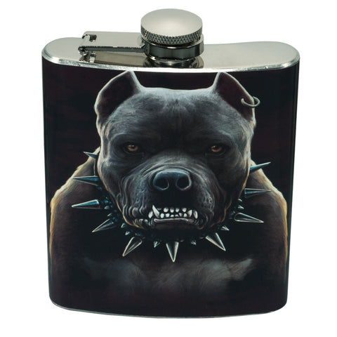 Zombie Pit Bull Flask