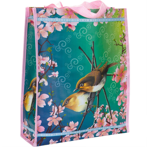Pair Sparrows Vintage Tote Bag