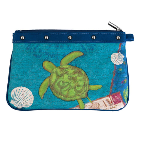Sea Turtle Swimming Wristlet