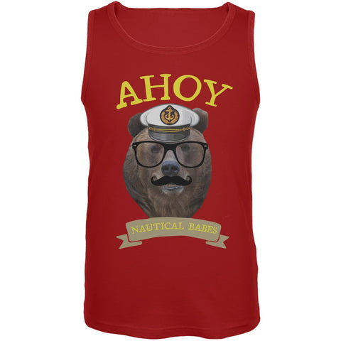 Ahoy Nautical Babes Tank Top