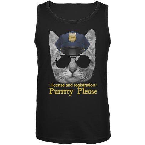 Officer Kitty Tank Top
