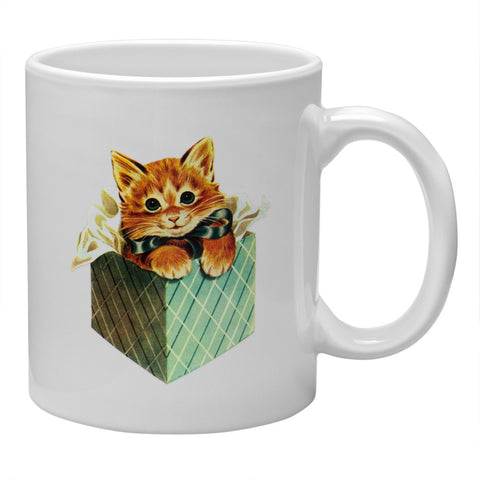 Kitten in a Box Coffee Mug