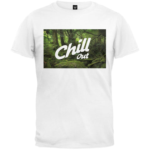 Chill Out White T-Shirt