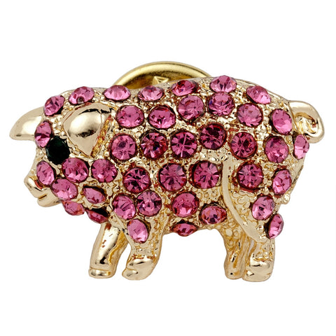 Pig Gold Clutch Pin