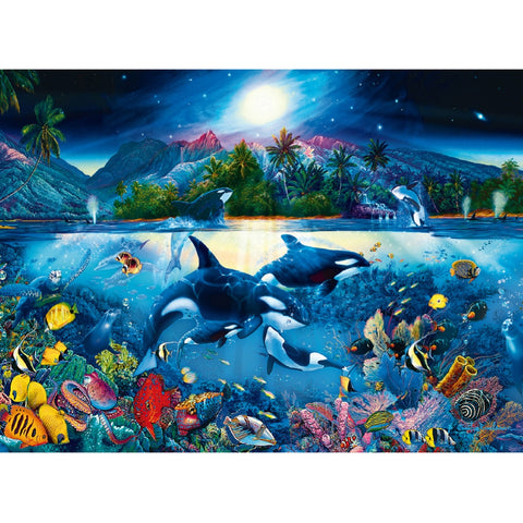 Majestic Ocean Kingdom 6000-Piece Puzzle