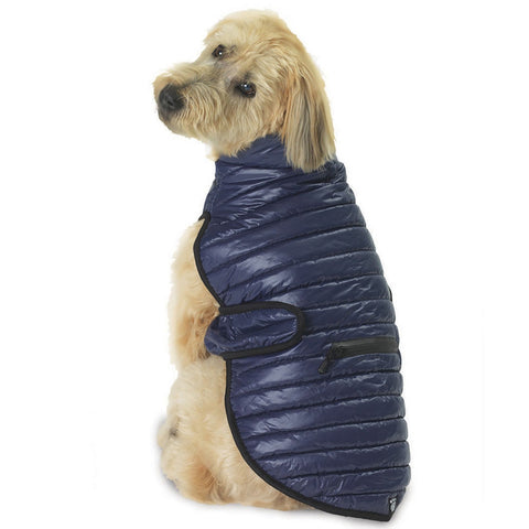 Brunswick Puffer Navy Dog Vest