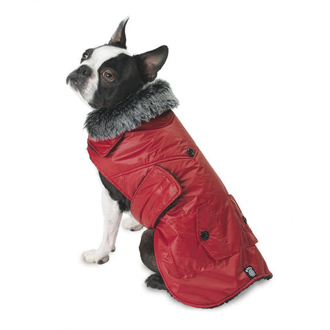 Boston Red Dog Parka Vest