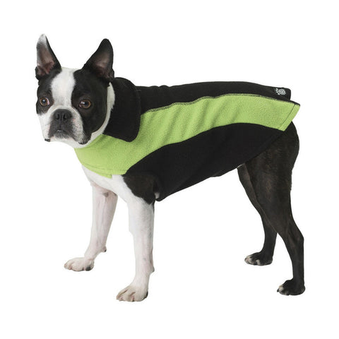 Slater's Fleece Green Dog Vest