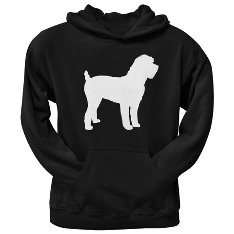 Schnoodle Silhouette Black Adult Pullover Hoodie
