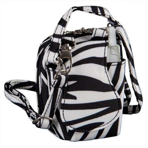 Zebra Mini Purse Cell Phone Holder