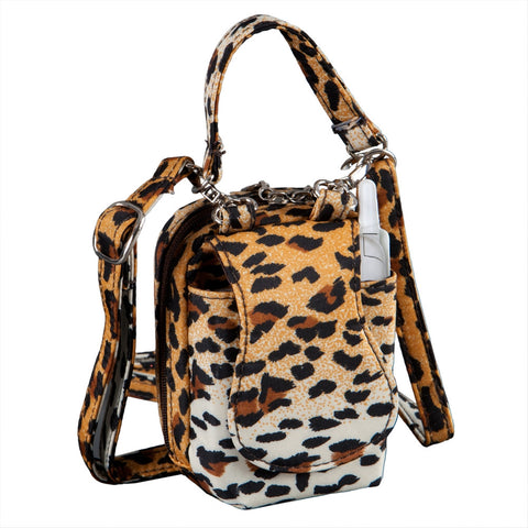 Cheetah Mini Purse Cell Phone Holder