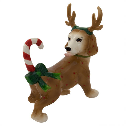 Reindeer Dog Dash Figurine