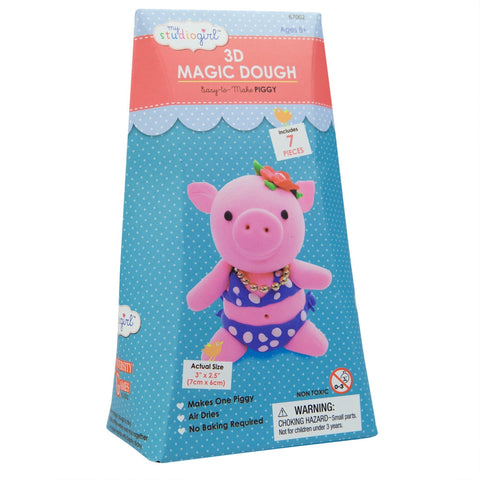 Piggy 3D Magic Dough Modeling Kit