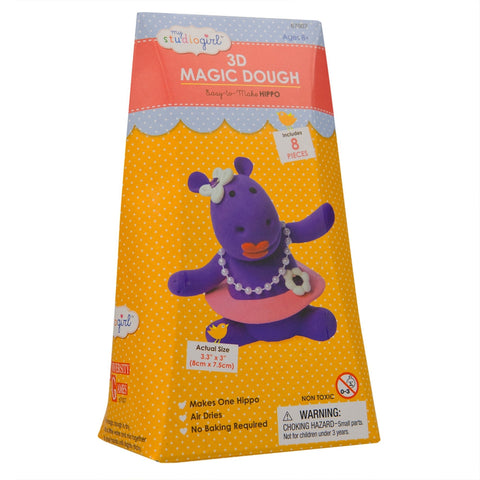 Hippo 3D Magic Dough Modeling Kit