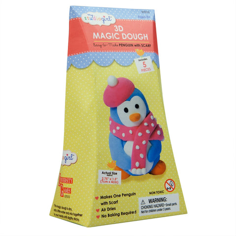 Penguin 3D Magic Dough Modeling Kit