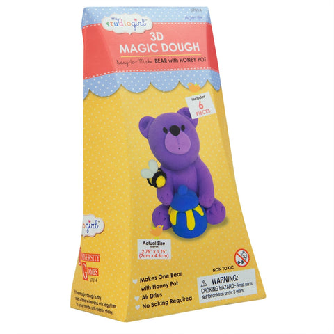 Bear 3D Magic Dough Modeling Kit