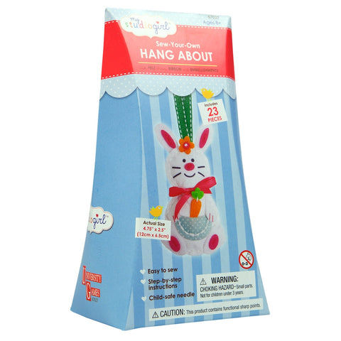 Rabbit Hang About Easy Sewing Kit