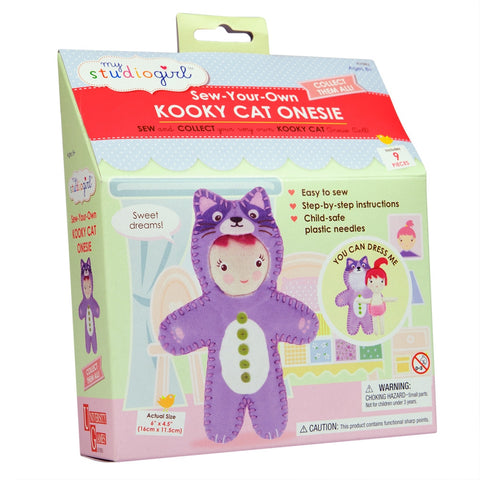 Kooky Cat Onesie Sewing Kit