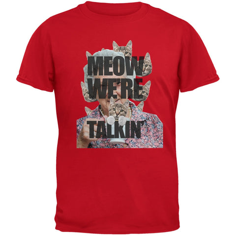 Meow We're Talkin' Red Youth T-Shirt