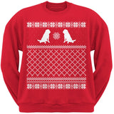 Shar Pei Red Adult Ugly Christmas Sweater Crew Neck Sweatshirt