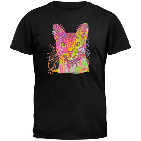 Abyssinian Neon Black Light Adult T-Shirt