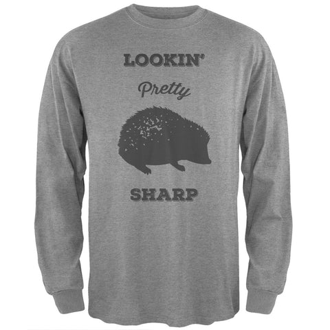 PAWS - Hedgehog Lookin' Pretty Sharp Navy Long Sleeve T-Shirt