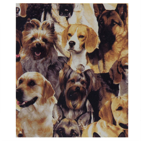 All-Over Dogs Fleece Blanket