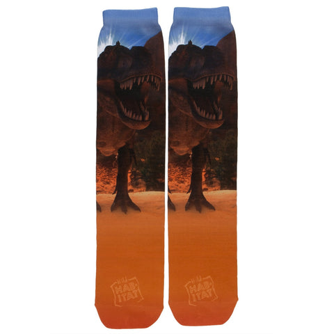 T-Rex Sublimated Socks