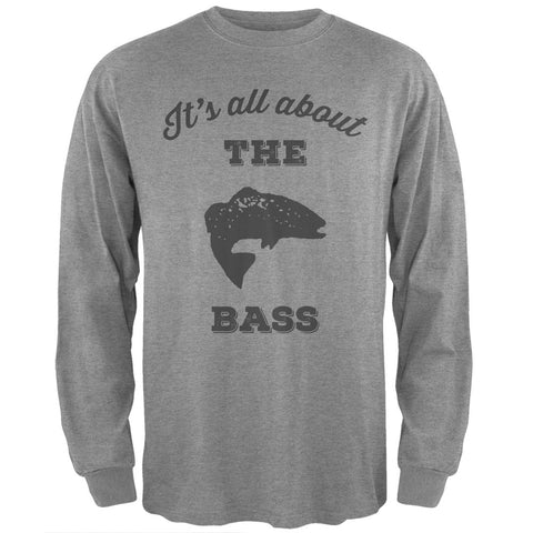 Paws - It's all about the Bass Heather Long Sleeve T-Shirt