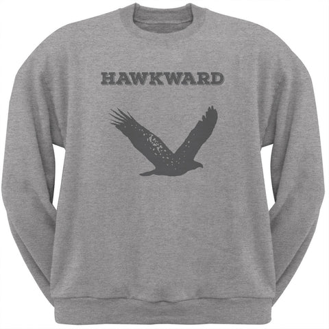PAWS - Hawk Hawkward Heather Crew Neck Sweatshirt