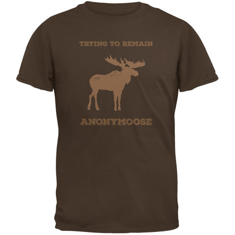 PAWS - Moose Trying to Remain Anonymoose Brown Youth T-Shirt