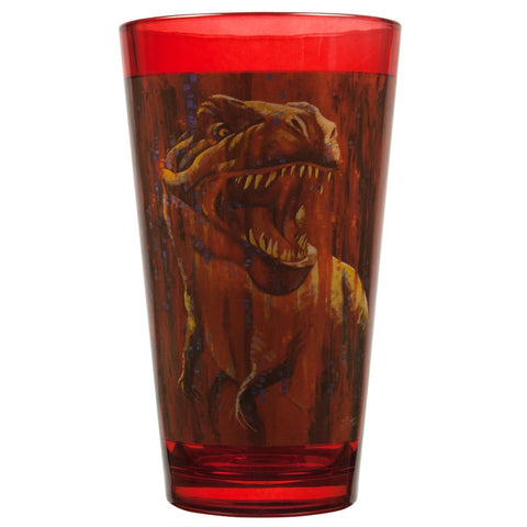 Stephen Fishwick T-Rex Pint Glass