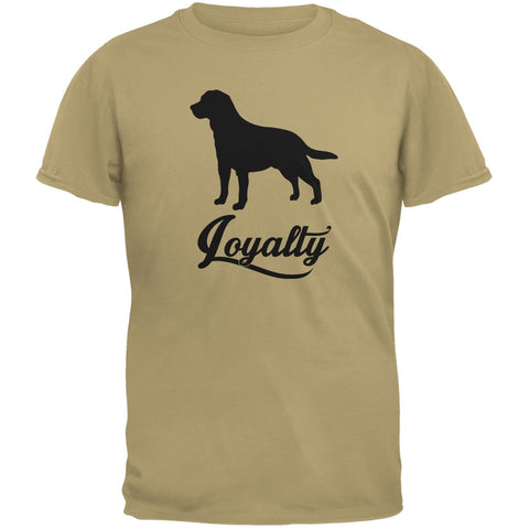 Labrador Loyalty Tan Adult T-Shirt