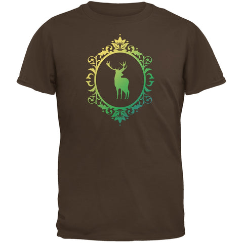 Deer Silhouette Brown Youth T-Shirt